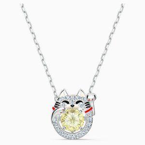 Swarovski Sparkling Dance Cat Necklace